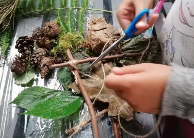 Leśne warsztaty dla dzieci